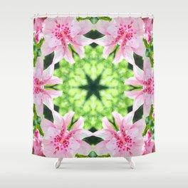 Flowering Shower Curtain