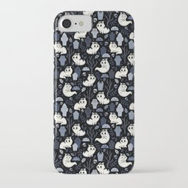Ghost Cats in the Cemetery iPhone Case