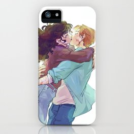 That one kiss iPhone Case