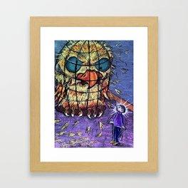 Now That's an Angry Bird Framed Art Print