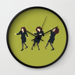 Elaine Dancing Wall Clock