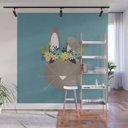 Spring Hare Wall Mural