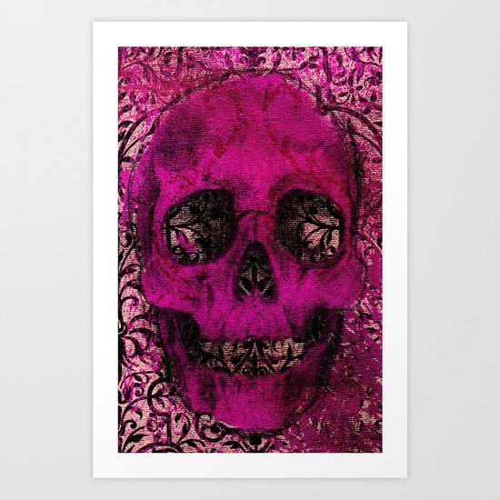 Skullicious Art Print