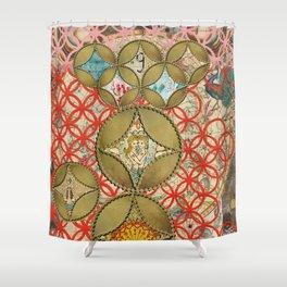 Astrology tarot Shower Curtain