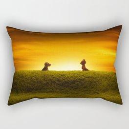 """""""El Encuentro"""" Rectangular Pillow"""