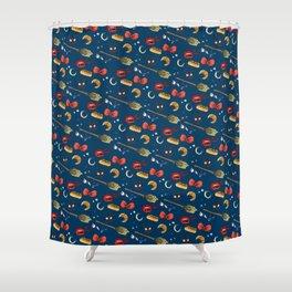 Kiki Skin Shower Curtain