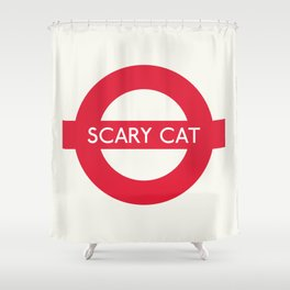 Scary Cat   TFL Shower Curtain