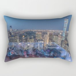 Top of the Rock Rectangular Pillow