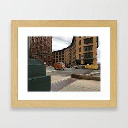 Boston Buggy Framed Art Print