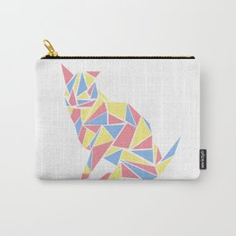 Mosaic Cat Carry-All Pouch