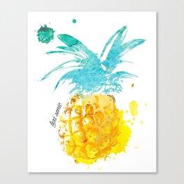 Dylon the Pineapple Canvas Print