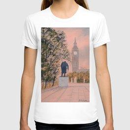 Churchill And Big Ben T-shirt