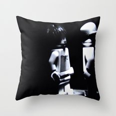 Lady of the Night  Throw Pillow