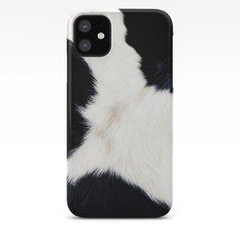 Farmhouse Cowhide iPhone Case