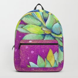 Whimsical Succulent Backpack