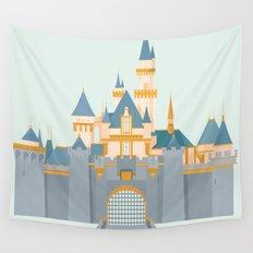Sleeping Beauty Castle Wall Tapestry