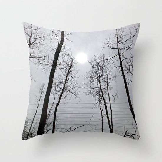 Bare Trees  series (4) Throw Pillow