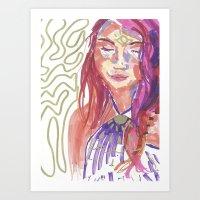 K Cochrane Art Print