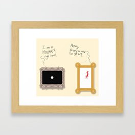 Artistic Differences Framed Art Print