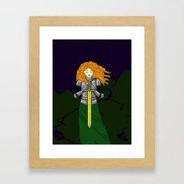Lost Knight Framed Art Print