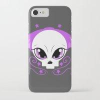 pastel goth iPhone & iPod Cases featuring Starstruck Pastel Goth by JadedZombieInk