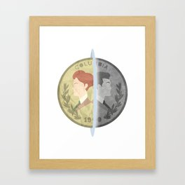 Heads or Tails ? Framed Art Print