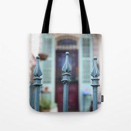 French Quarter Gate Tote Bag