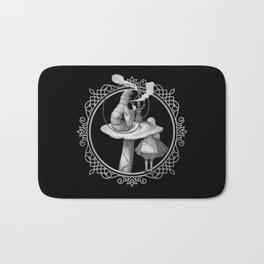 Alice and the Smoking Caterpillar - Alice in Wonderland Bath Mat