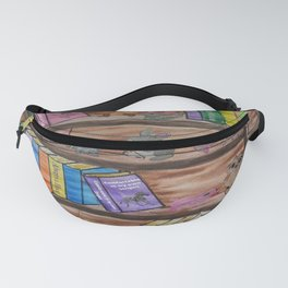 Animal Library Fanny Pack