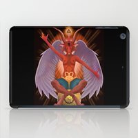 baphomet iPad Cases featuring The Baphomet by 5th Aeon