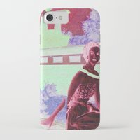 hot dog iPhone & iPod Cases featuring Hot Dog by Jon Duci