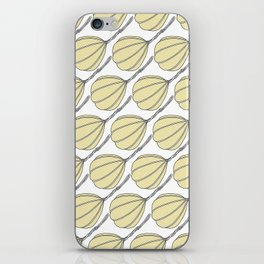 Provolone (cheese pattern) iPhone Skin