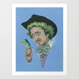 GENE WILDER IS AWESOME Art Print
