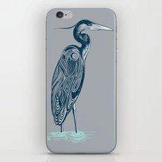 Bewitching blue heron iPhone & iPod Skin