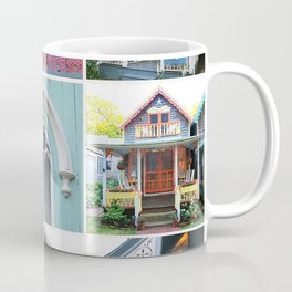 Pretty Cottages all in a Row Coffee Mug