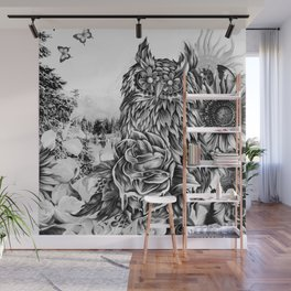 Lay of the land Wall Mural