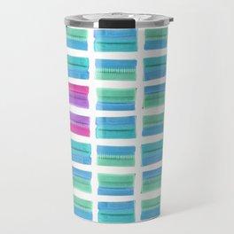 Colored Bubble Gums Pattern Travel Mug