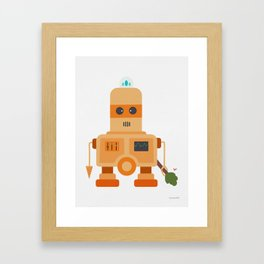 Robo Demolisher Framed Art Print