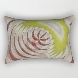 Basal Stripe Twirl Rectangular Pillow