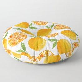 Oranges Pattern Floor Pillow
