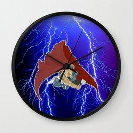 God of Lightning Wall Clock