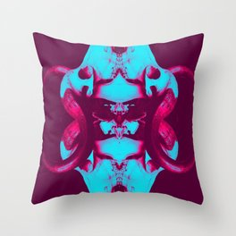 buffalo bones V4 Throw Pillow