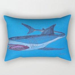 Great White Attack Rectangular Pillow