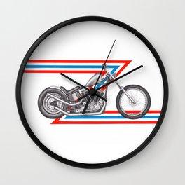 Ironhead Motorcycle Wall Clock