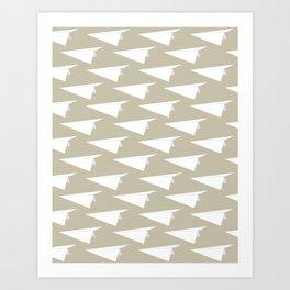 Paper Fleet Art Print