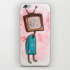 TV Head iPhone & iPod Skin