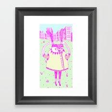 I wanna go Framed Art Print