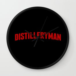 Distilleryman Wall Clock