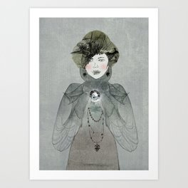 I have a secret Art Print