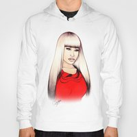 barbie Hoodies featuring American Barbie by Tiko Meow